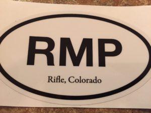 Rifle Mountain Park sticker
